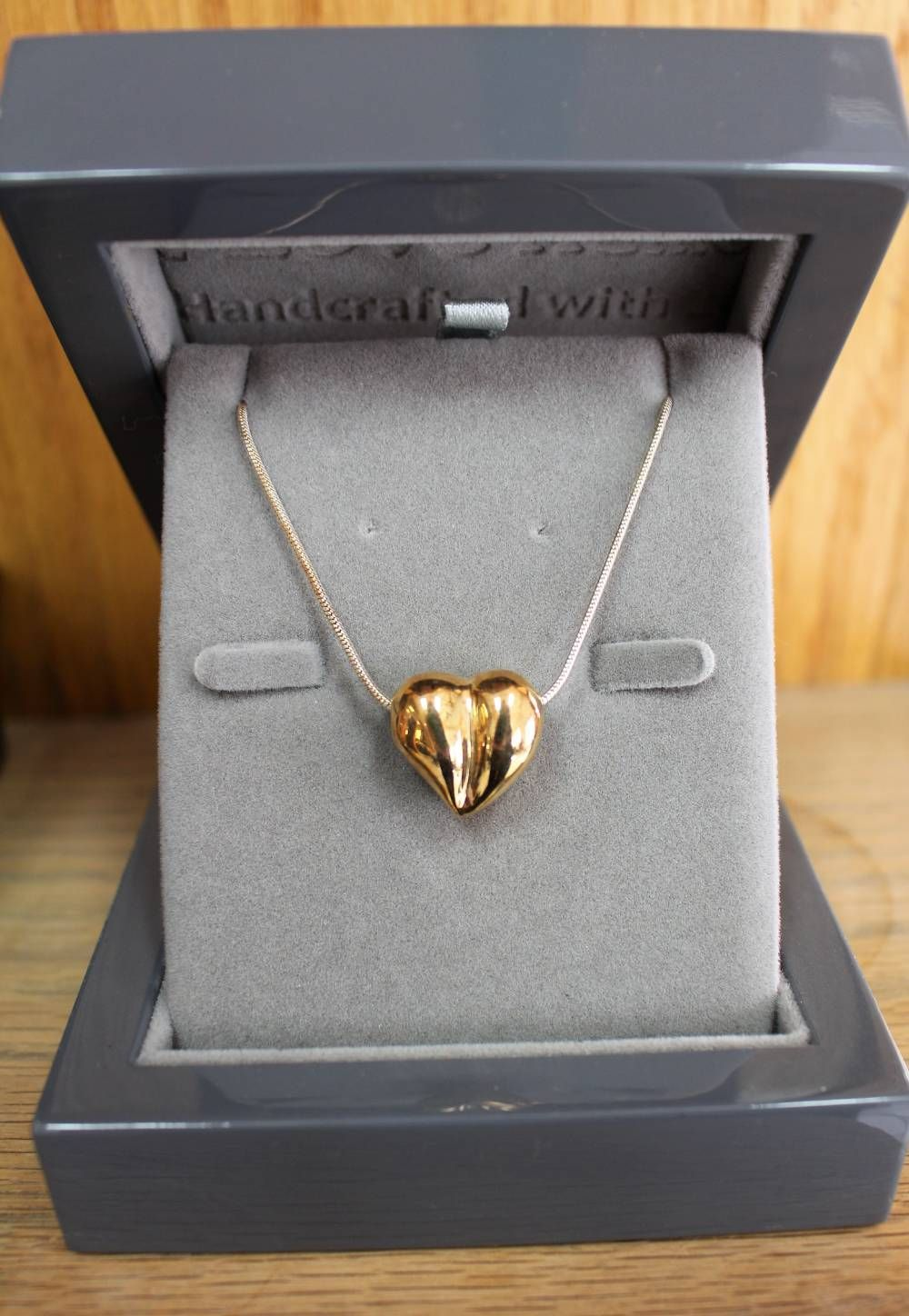 gold heart keepsake urn ashes jewelry necklace sterling silver chain love urns